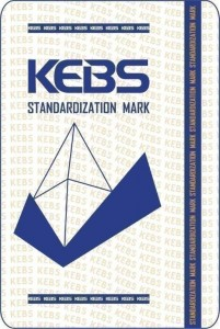 Our KEBS Certification